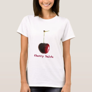 T-shirt frais de cerise