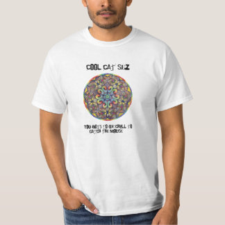 T-shirt frais de chat