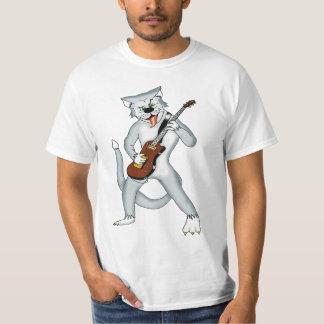 T-shirt frais de chat de rockabilly