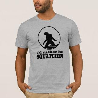 T-shirt frais de Sasquatch ! Je serais plutôt