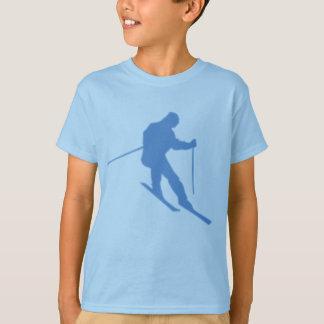 T-shirt frais de ski de garçons