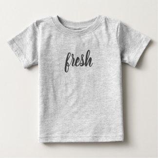 T-shirt frais du Jersey de bébé