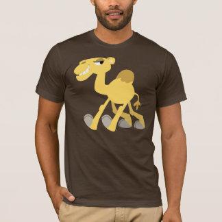 T-shirt frais et mignon de chameau de bande