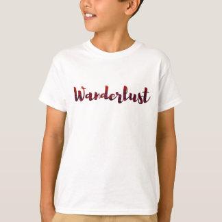 T-shirt frais /sunset d'envie de voyager/voyage