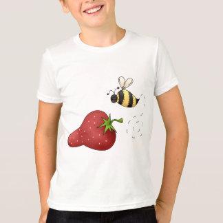 T-shirt Fraise d'abeille