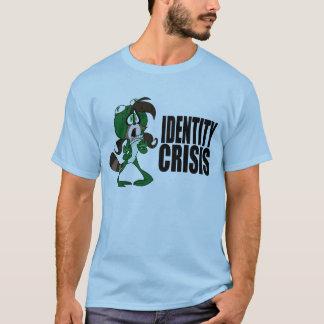 T-shirt Fraise de raton laveur de grenouille : Crise