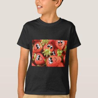 T-shirt Fraises heureuses mignonnes