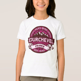 T-shirt Framboise de Courchevel France