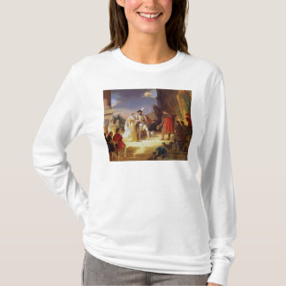 T-shirt Francois I avec Leonardo da Vinci