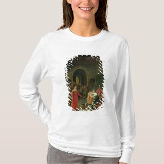 T-shirt Francois I présenté à Louis XII