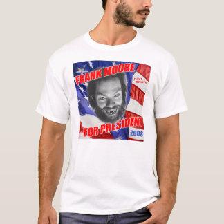 T-shirt Frank Moore pour le président 2008