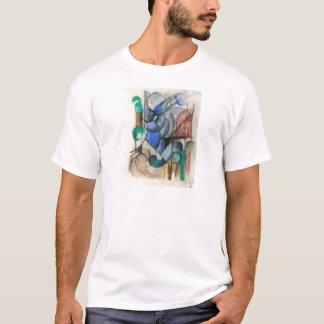 T-shirt Franz Marc - Chambre dans le paysage abstrait