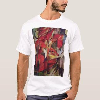 T-shirt Franz Marc - renards