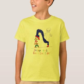 T-shirt Frappent du pied le patriarcat