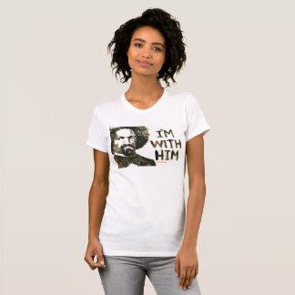 T-shirt Frederick Douglas - je suis avec lui