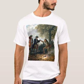 T-shirt Frederick le grand avec Zieten au camp
