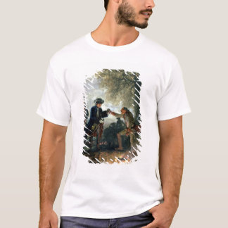 T-shirt Frederick le grand avec Zieten au camp
