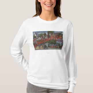 T-shirt Fredericksburg, la Virginie - grandes scènes de