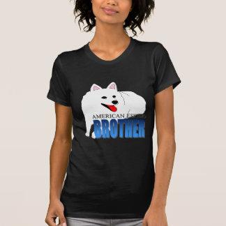 T-shirt Frère américain de chien esquimau