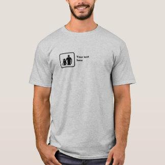 T-shirt Frère et soeur (petit logo) -- Personnalisable