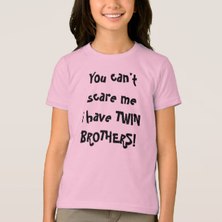 T-shirt Frères jumeaux !
