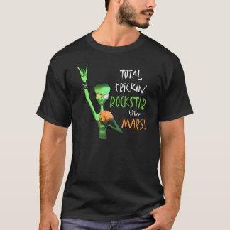 T-shirt Frickin total Rockstar de Mars