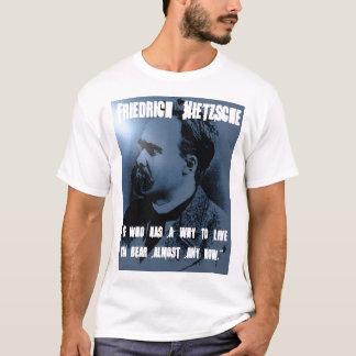 T-shirt Friedrich Nietzsche POURQUOI VIVRE