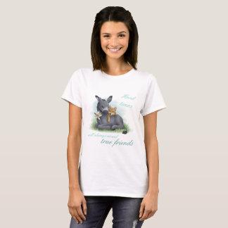 T-shirt Friendship Shiba Inu et clés de Don