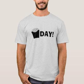T-shirt Friture-Jour vendredi drôle