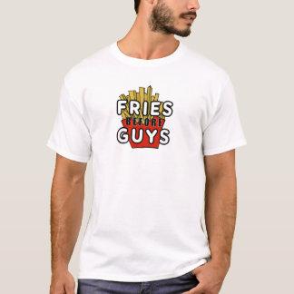 T-shirt Fritures avant des types