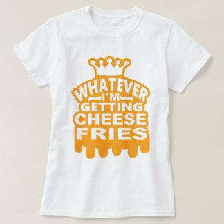 T-shirt Fritures de fromage