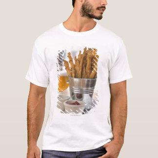 T-shirt Fritures de patate douce servies avec du vinaigre