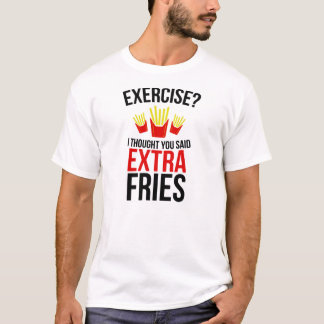 T-shirt Fritures supplémentaires