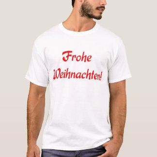 T-shirt Frohe Weihnachten