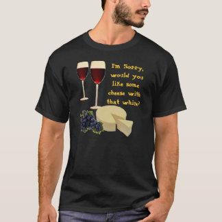 T-shirt Fromage avec le gémissement