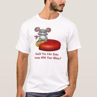 T-shirt Fromage avec votre gémissement