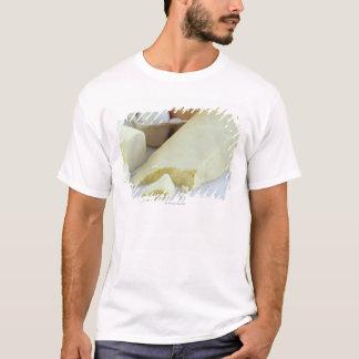 T-shirt Fromages et oeufs. Les oeufs sont riches en