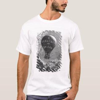 T-shirt Frontispice à 'cinq semaines dans un Balloon