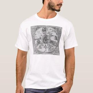 T-shirt Frontispice à Utriusque de Robert Fludd