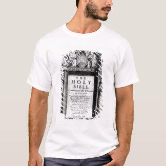 T-shirt Frontispice 'au Bible saint