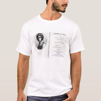 T-shirt Frontispice 'aux lettres d'Ortis