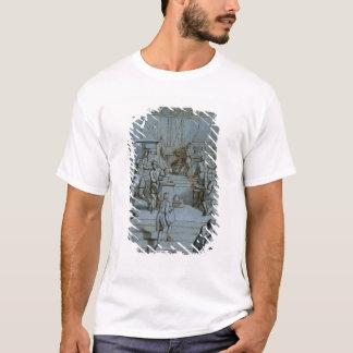 T-shirt Frontispice pour les travaux d'impression royaux