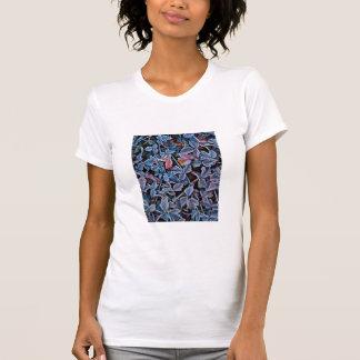 T-shirt Frost sur le feuille d'automne, Orégon