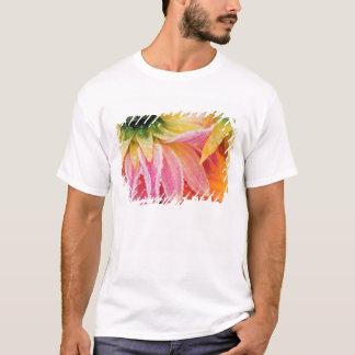 T-shirt Frost sur les dernières fleurs de la chute -