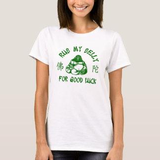 T-shirt Frottez mon ventre de Bouddha