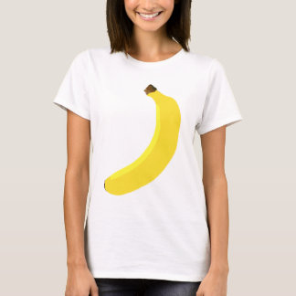 T-shirt Fruit jaune de banane