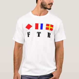 T-shirt FTR - Drapeaux et acronyme de signal