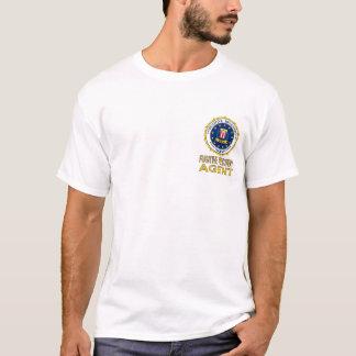 T-shirt FUGITIF blanc d'AGENT de RÉCUPÉRATION