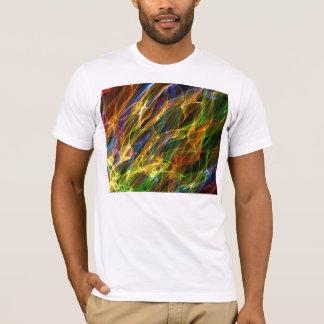 T-shirt Fumée abstraite