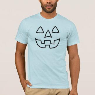 T-shirt Fun Halloween face
